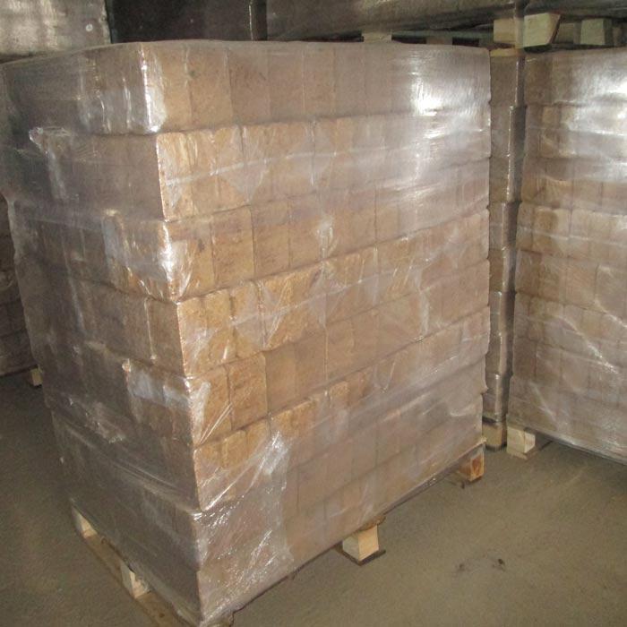 Square sawdust briquettes - Briquettes