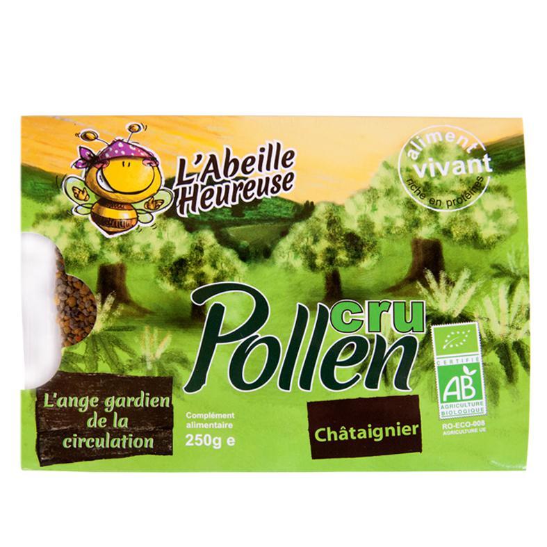 Pollen de châtaigner - Biologique et surgelé