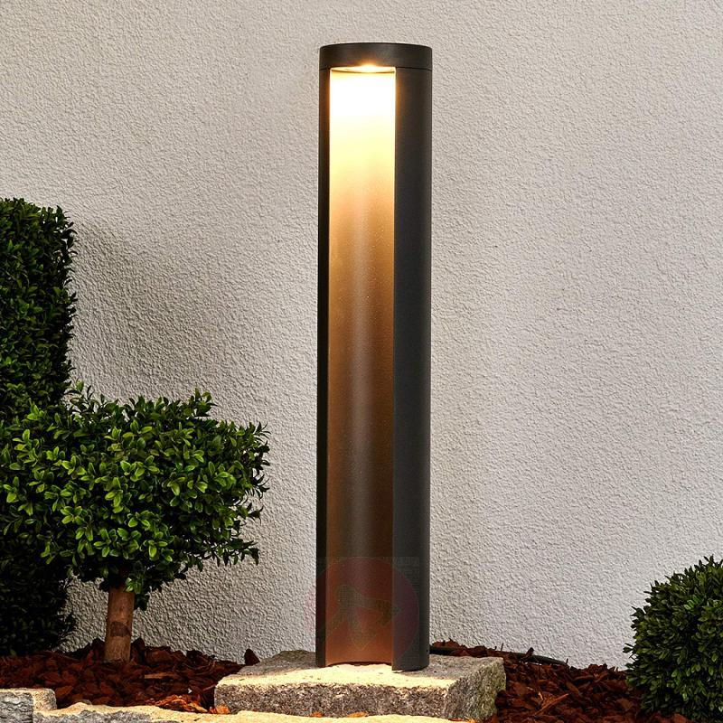 Graphite grey LED path light Jaron - outdoor-led-lights