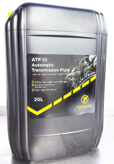 Synthetic oil for automatic gearboxes and transmissions - Automatic Transmission oil Forsage ATF III Synt for heavy-duty vehicles