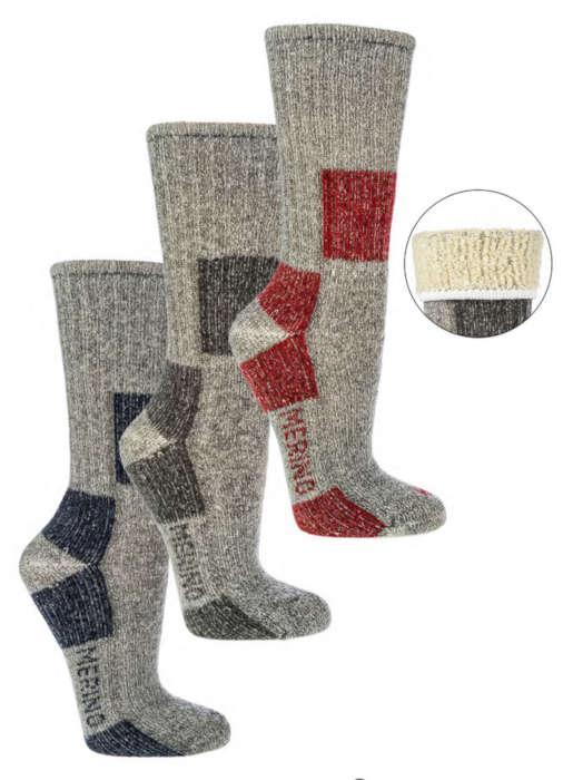 6513 - 85% Merino Trekking Socks  -