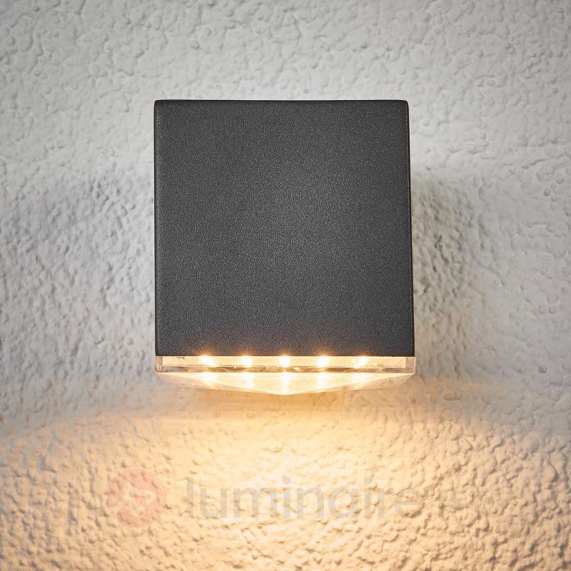Applique d'extérieur LED gris foncé Lydia - Appliques d'extérieur LED