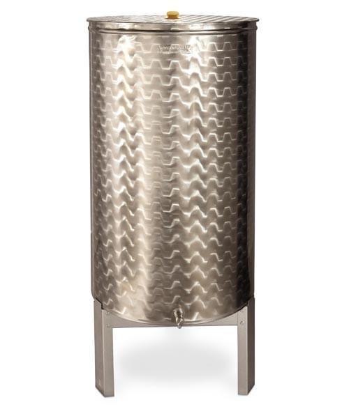 Contenitore Inox - BOTTE INOX LT 300