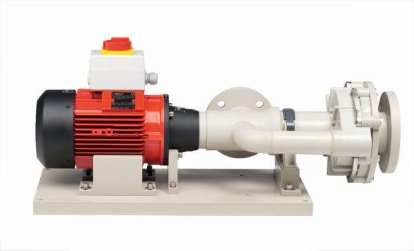 FLUX Centrifugal immersion pumps type 600 - Tank pumps – in different versions for immersions lengths up to 4100 mm