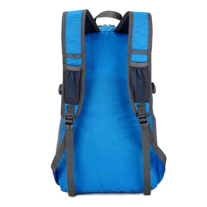 High quality waterproof folding backpack - full printing color