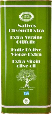 "Greek Extra Virgin Olive Oil - 100% Greek Extra Virgin Olive Oil of ""Koroneiki"" Olive Variety"