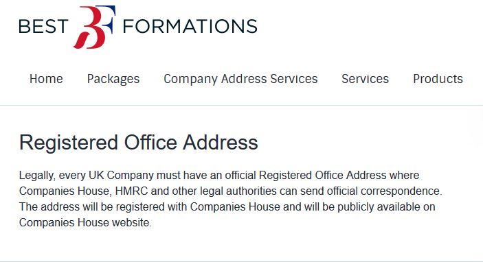 Registered Office Address Service