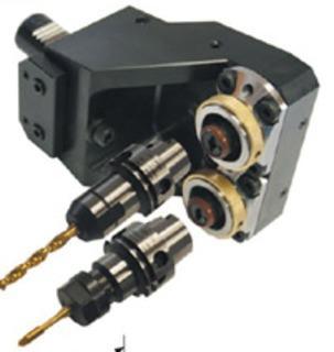 Doppel-Werkzeughalter VDI 30 mit HSK-T40 Spanneinheit - null