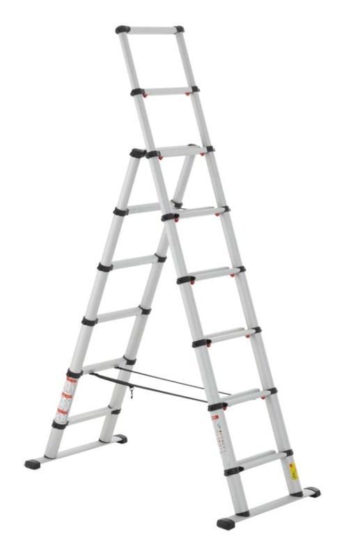 Телескопические лестницы и стремянки Telesteps (Швеция). - Наше качество – Ваша безопасность