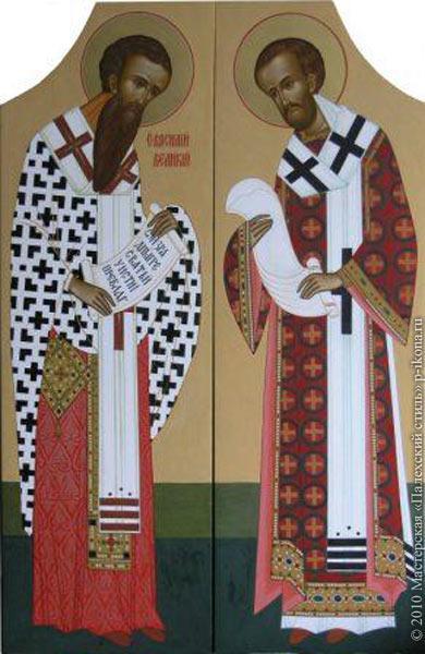 Basil the Great and John Chrysostom - null