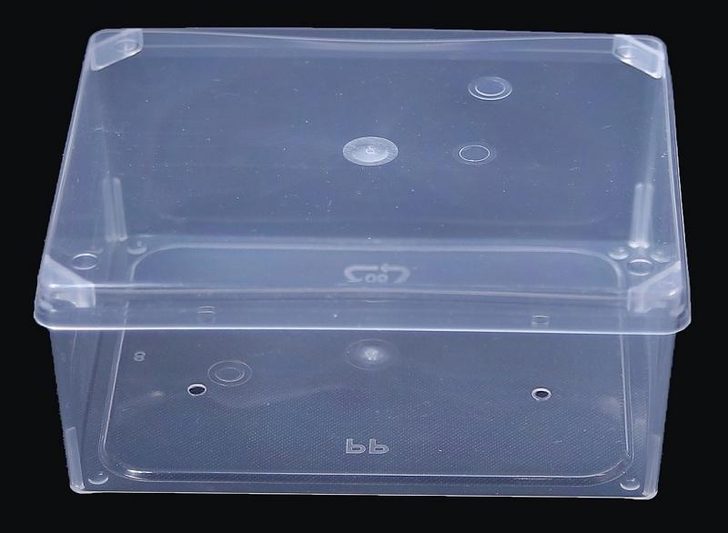Rectangular Plastic Box - Natural Color,Flexible