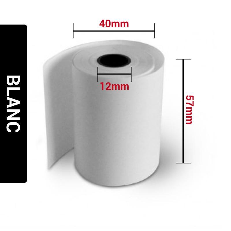 Bobines Papier Thermiques 57x40x12