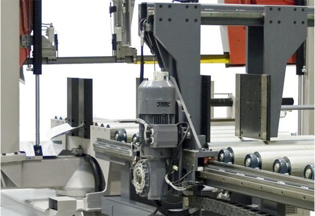 Scie à ruban automatique - INDIVIDUAL 820.640 GANC-LS