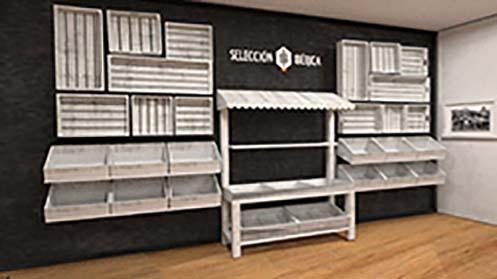 Tienda Gourmet - Mobiliario específico para tiendas tipo Gourmet, Delicatessen o Abacería