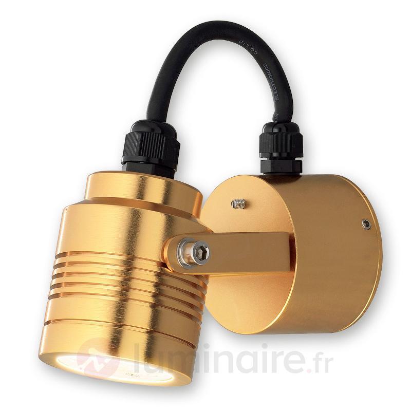 Applique d'extérieur LED Monza 7903 bronze - Appliques d'extérieur LED