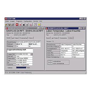 Accessories & Software - Logger software GSOFT 40 K - UPDATE