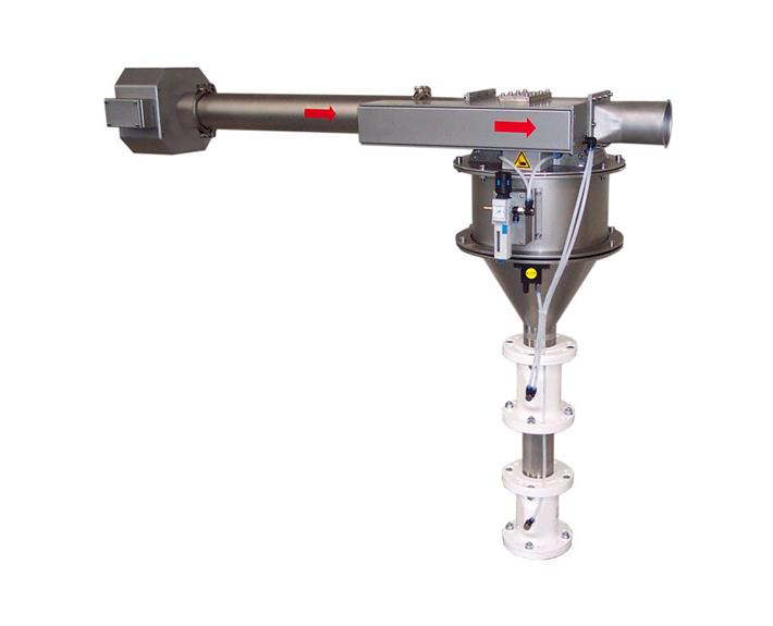 Metallseparator zum Einbau in Saug - P-TRON GM V2