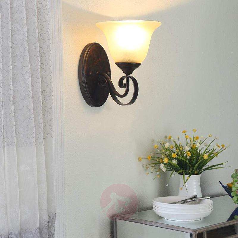 Wall lamp Svera in a country house style - Wall Lights