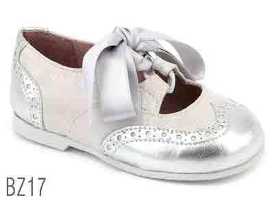 BZ17 - Zapato Inglés color plata