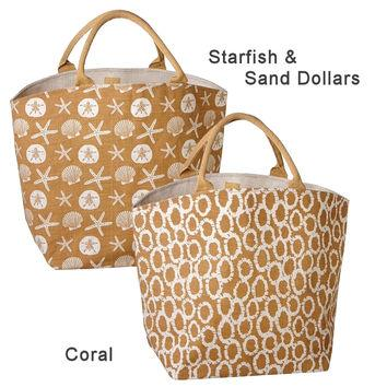 Custom Printed Jute Handbags - Custom Printed Jute Handbags, Jute Shopping Handbags, Jute Tote Bags