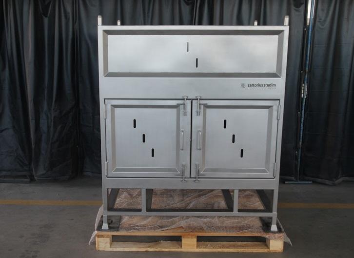 Schweißkonstruktionen - der Behälter  - Schweißen von Konstruktionen für die chemisch-pharmazeutische Industrie