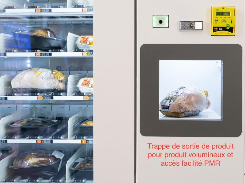 ROBOMAT24 Distributeur de plats cuisinés -