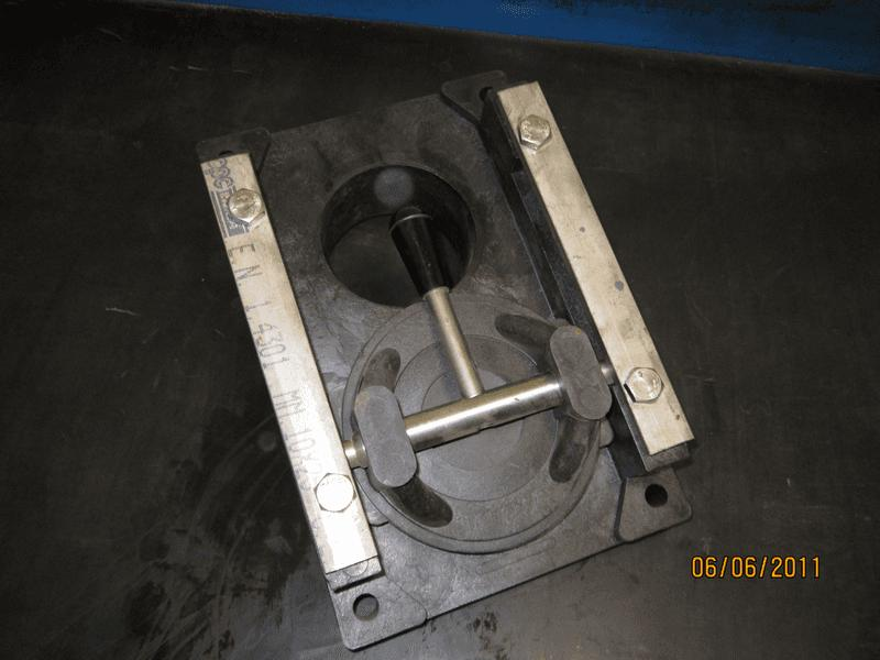 valvola manuale diam. 100 per scarico acque - bottali manutenzione e ricambi