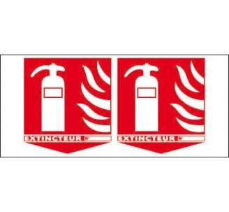 Panneaux de sécurité incendie - Panneaux PVC sécurité incendie