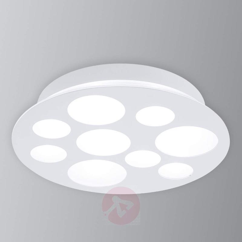 Pernato - a round, white LED ceiling light - Ceiling Lights
