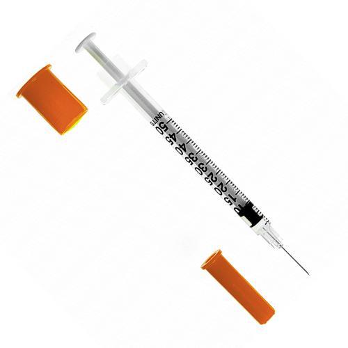 SFM Insulinspritzen Einwegspritzen U-100 0,5ml 29G (100) - null