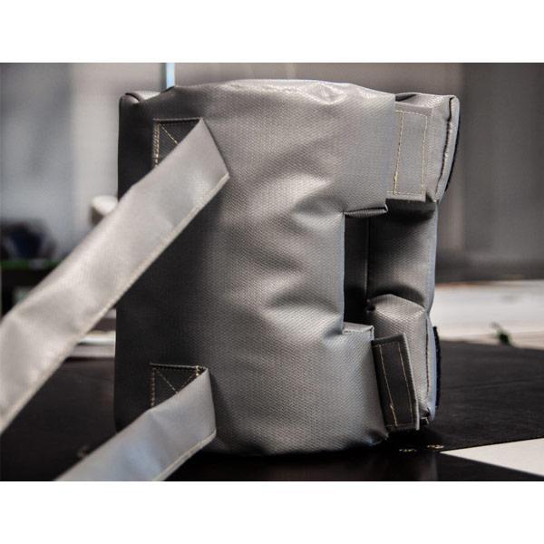 Matelas isolants en forme - Le matelas isolant qui épouse parfaitement les formes complexes des équipements
