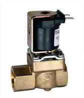 Servo-controlled solenoid valve NC, DN 10 - 01.010.521