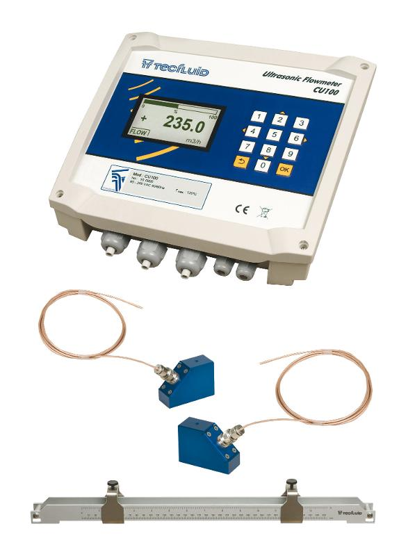 Débitmètre à ultrasons non intrusif série CU - null