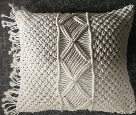 boho hand made cushion cover