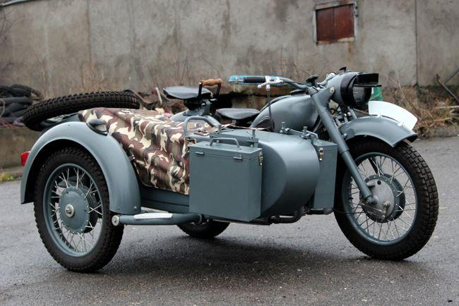 1969 Dnepr K-650 with Sidecar