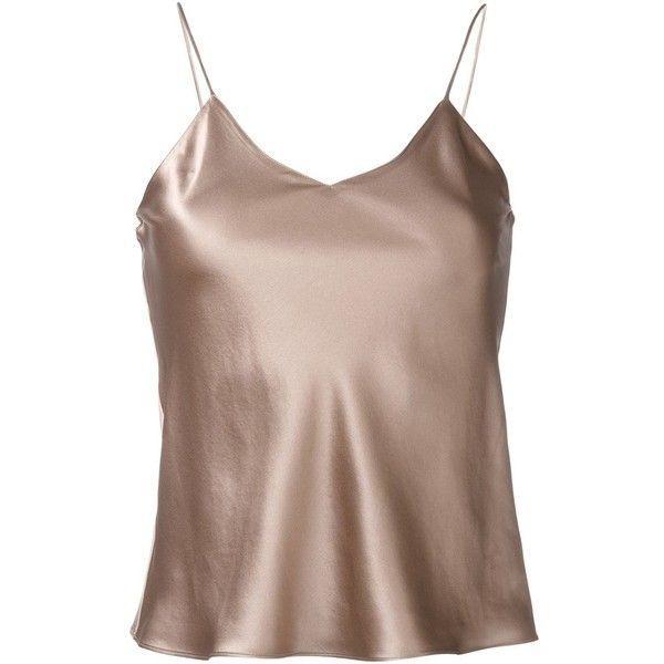 Silk Satin Camisole Tops - Manufacturer and Exporter | Silk Dresses Manufacturer india
