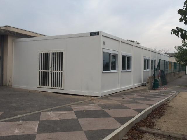 Construction modulaire pour salle se classe - Modulaire reconditionné ou d'occasion