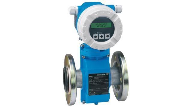 debit mesure produits - debitmetre electromagnetique promag 10L
