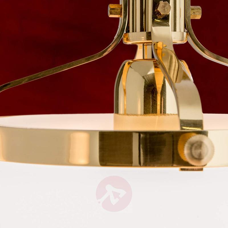 Delia Hanging Light Single Bulb Brass - Pendant Lighting