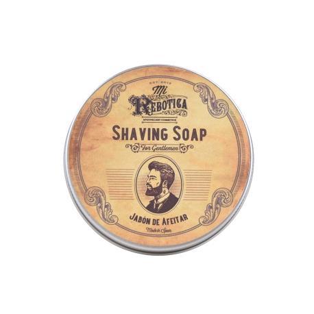 Sabão de Barbear 75g - O Sabão de Barbear de Mi Rebotica é elaborado numa base de ingredientes naturais