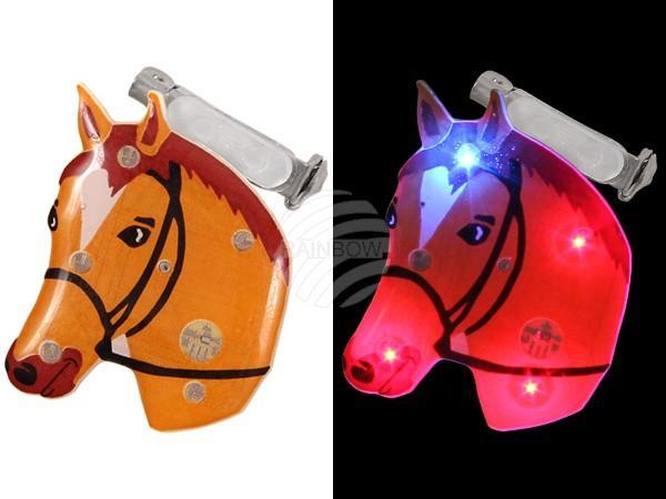 Blinki Blinker braun Motiv: Pferd - null