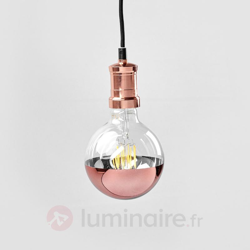 Suspension Chicago, couleur cuivre - Suspensions LED