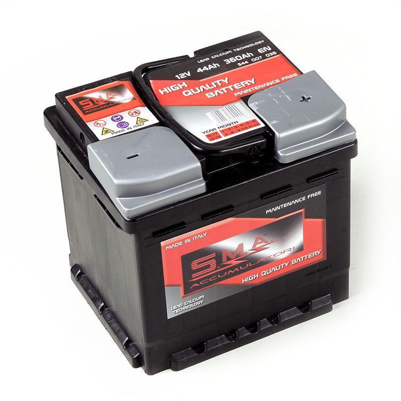 Batteria per auto L1 44 ah - Batterie Avviamento - Serie DIN