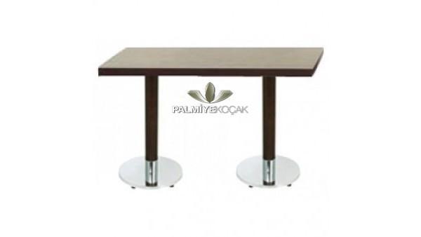 Metal ayaklı masa