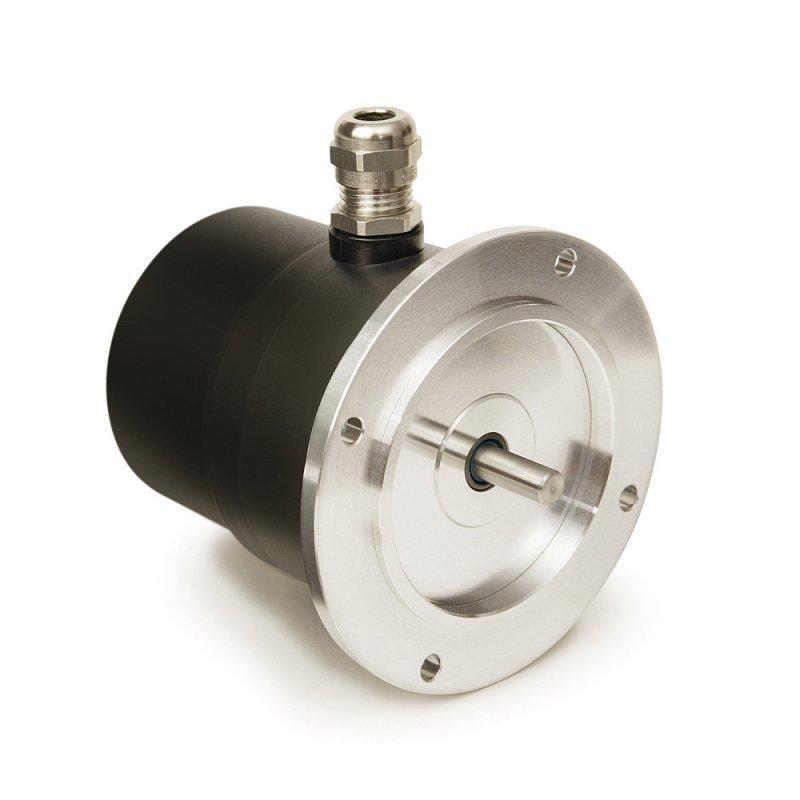 Potenciómetro de engranaje GP03/1 - Potenciómetro de engranaje GP03/1, forma constructiva compacta con eje macizo