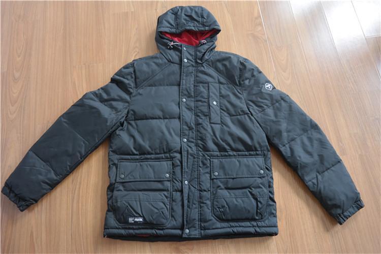 Men's hooded down wear for winter YH16-44MTK