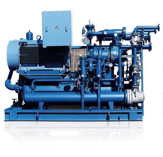 AERZEN Überdruck- Aggregat VMY für die Prozessgastechnik