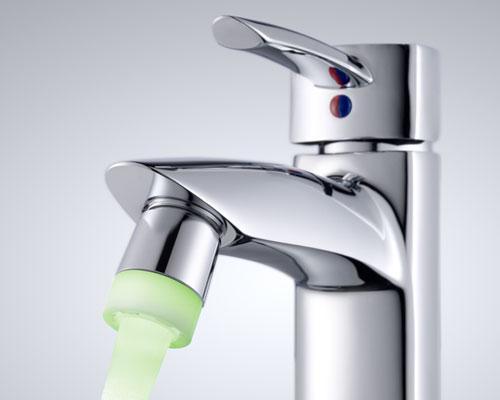 Aeratore LED - Prodotti per il risparmio acqua