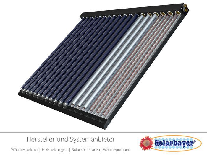 Solarbayer Vakuum-Röhrenkollektoren  - CPC Nero