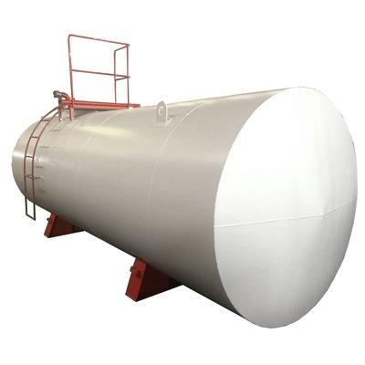 Single-walled fuel storage tank -